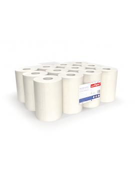 Ręczniki w roli 60 m celulozowe 2w z nano srebrem